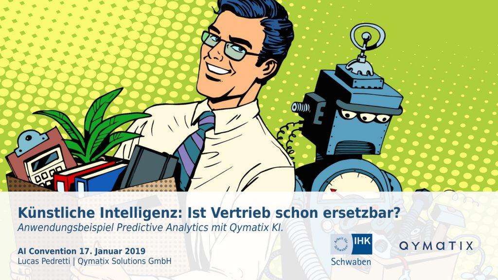 Qymatix bei der AI Convention