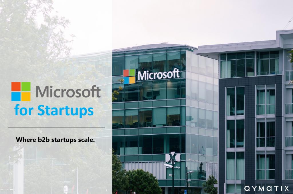Qymatix Predictive Sales Software in Microsoft for Startups Program