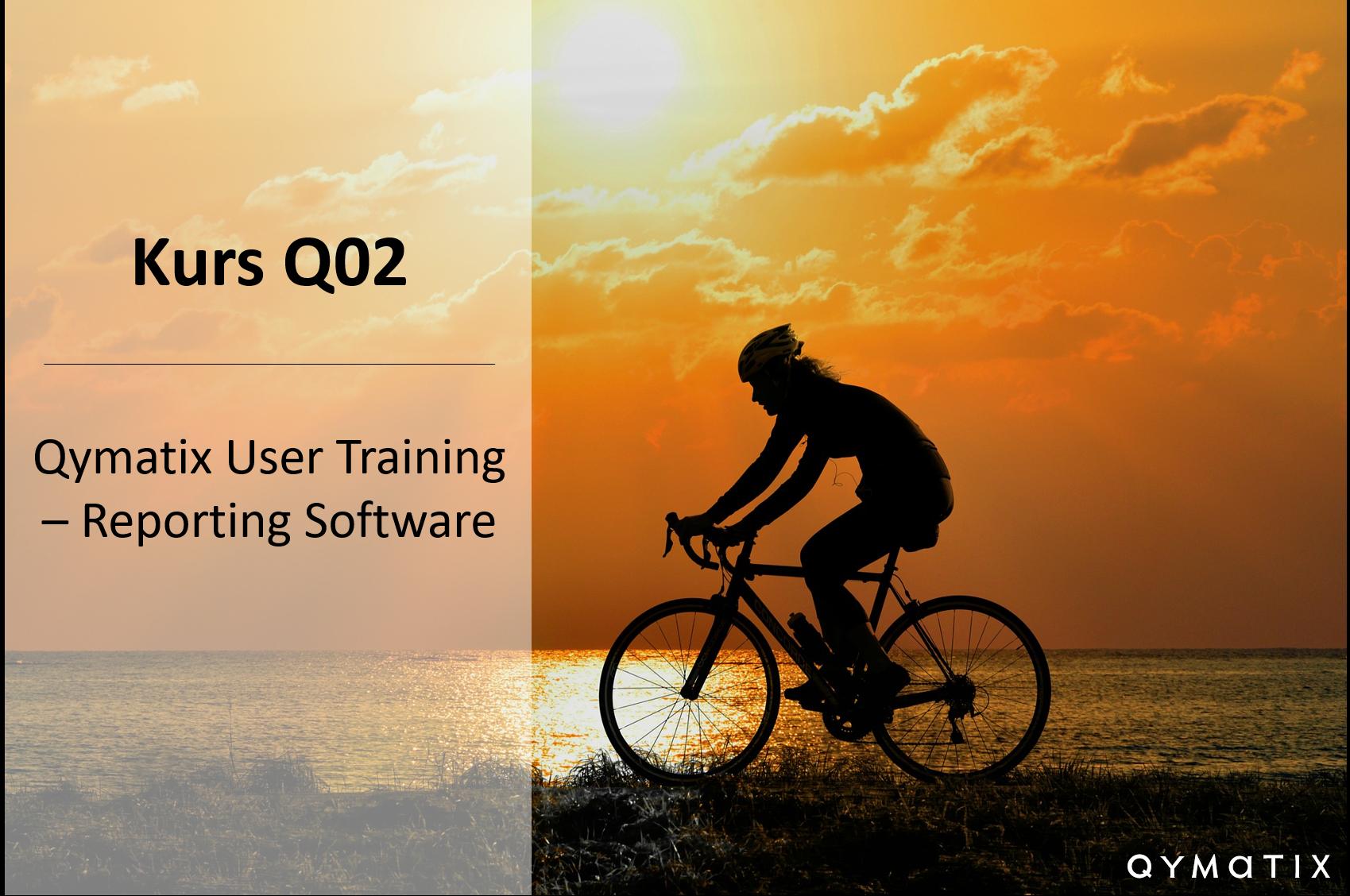 Qymatix Reporting Software: User Training – Q02