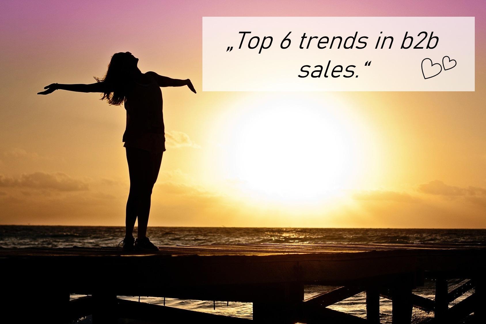 trends in b2b sales