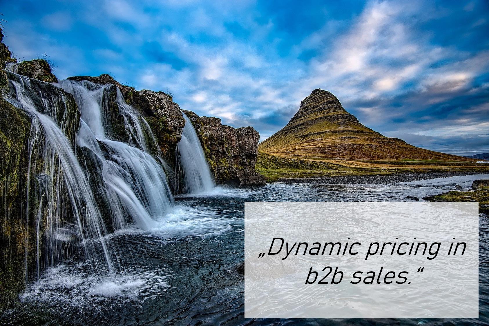 dynamic pricing in b2b sales