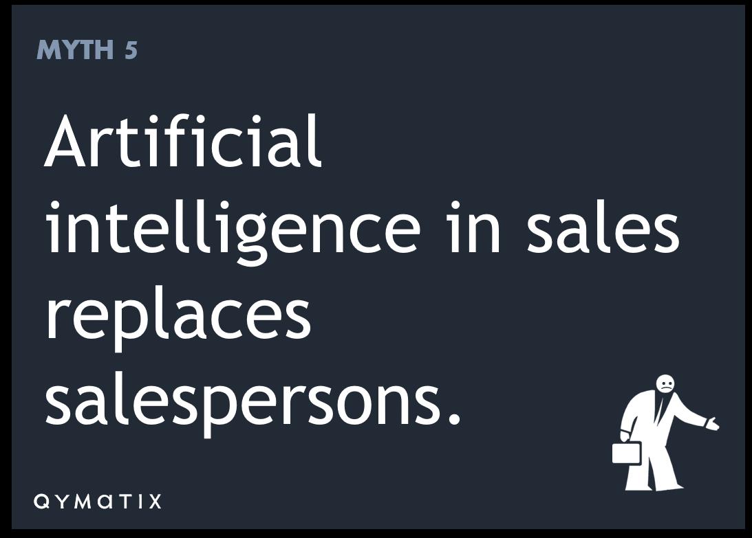 AI replaces salesperson